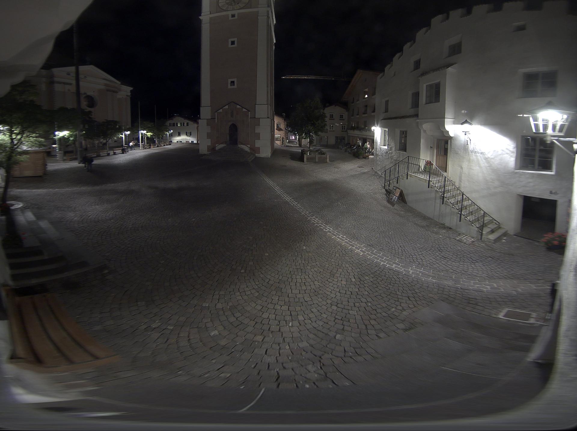 Castelrotto - piazza Kraus (Panocam)